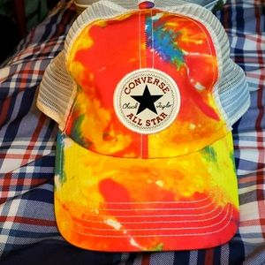 Converse all star snap back hat